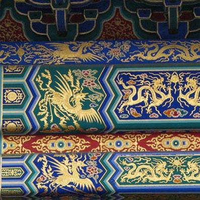 2015-03-10 古建彩绘详解 苏式:起源于苏州,因而得名.图片