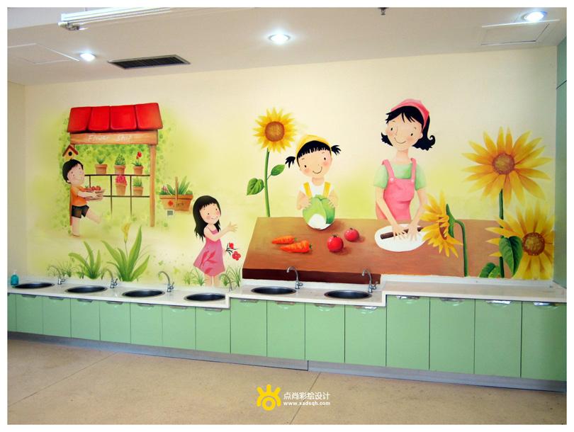 幼儿园手绘墙的必要性
