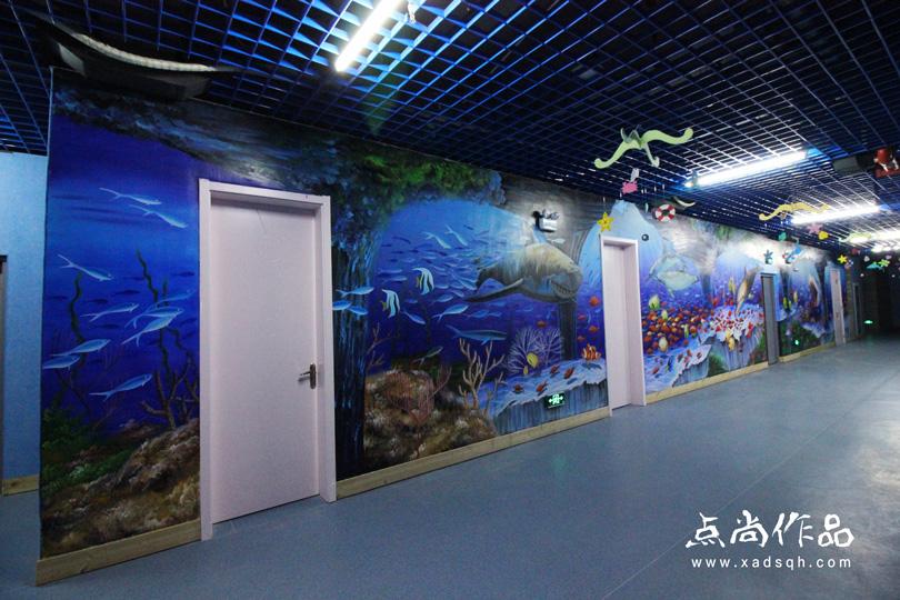 西安幼儿园手绘墙点尚墙绘